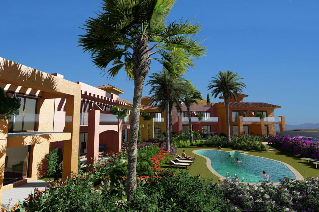 New development with 14 homes in a very exclusive and private complex in Desert Springs Golf Resort., Spain
