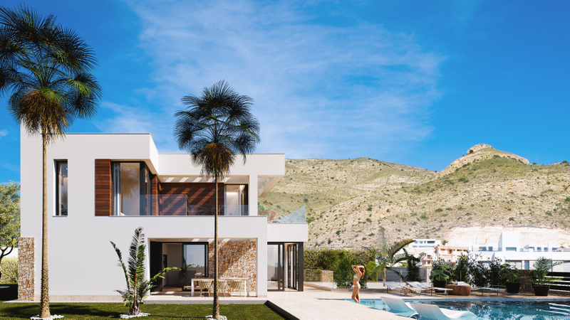 Ref:FINSTRAT Villa For Sale in Finestrat
